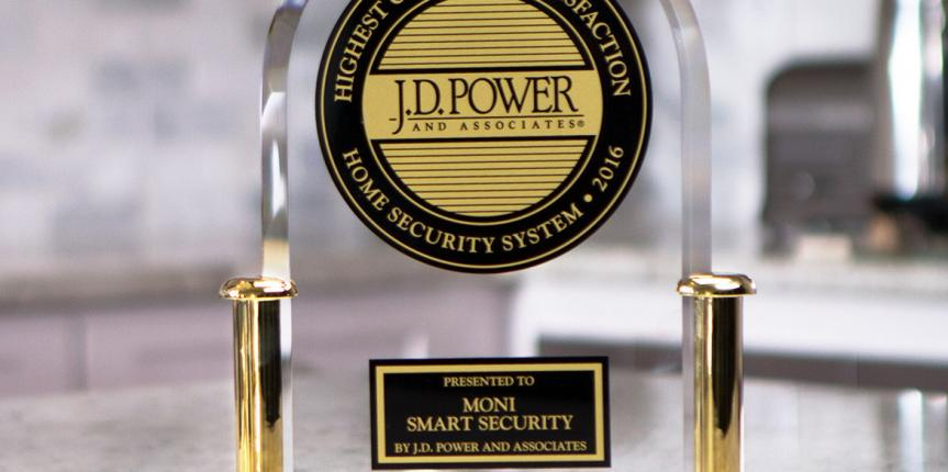 MONI Smart Security Scores highest in J.D. Power